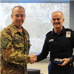 General Marchiò visits French Maritime Headquarters